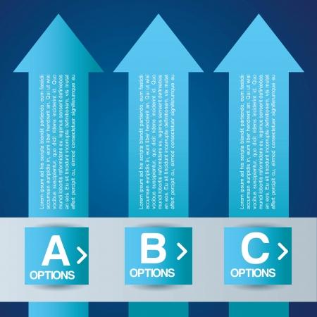 infographics design over  blue background vector illustration  Illustration