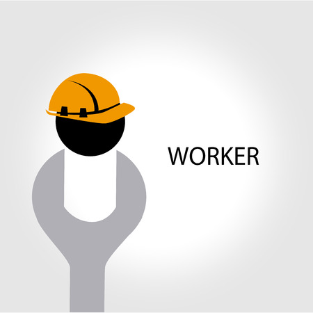 workers  design over  gray background vector illustration  Vector