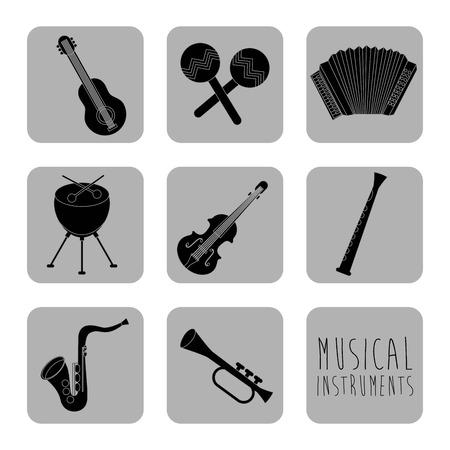 musical design over white background vector illustration Stock Vector - 24071367