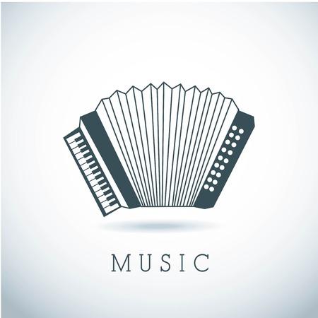 musical design over gray background vector illustration Stock Vector - 24070489