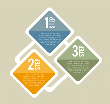 determinants: infographics design over beige background vector illustration