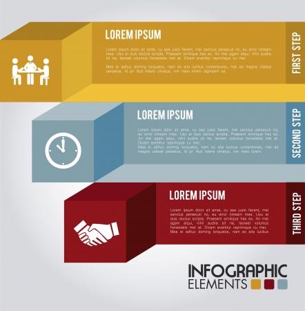 determinants: infographics design over blue background vector illustration   Illustration
