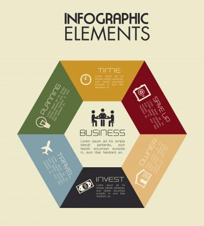 plains: infographics design over pink  background vector illustration