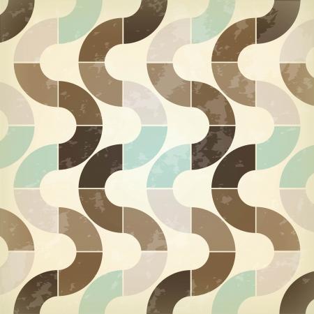 retro label over pattern background vector illustration Stock Vector - 24318574
