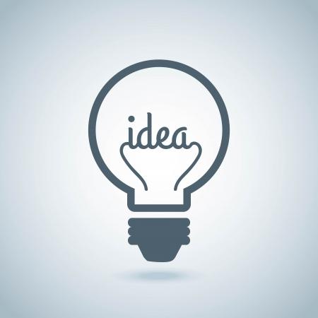 bulbs design over gray background vector illustration Illustration