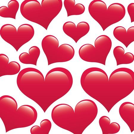 wallpapper: love design over white   background vector illustration