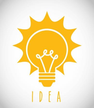 lámparas de diseño sobre fondo gris ilustración vectorial