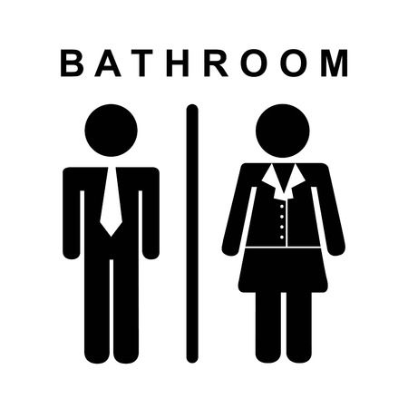 bathroom design: bathroom design  over white background vector illustration
