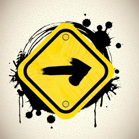 guides: arrow design over pattern illustration  Illustration
