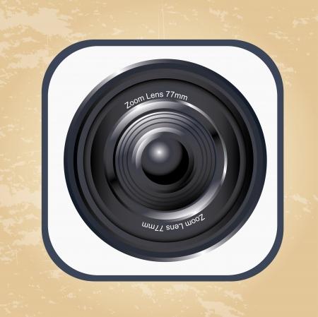 granary: obiettivo della fotocamera su illustrazione d'epoca