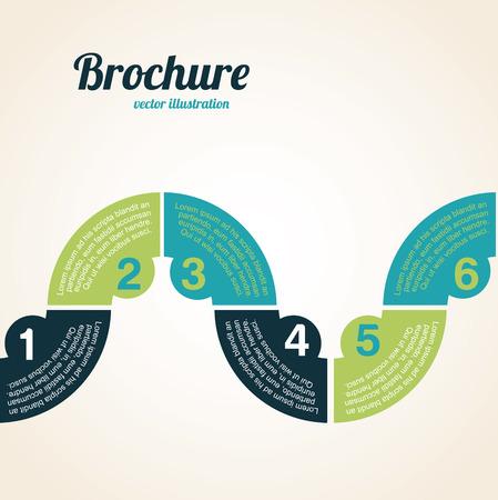 determinants: infographics design over white illustration  Illustration