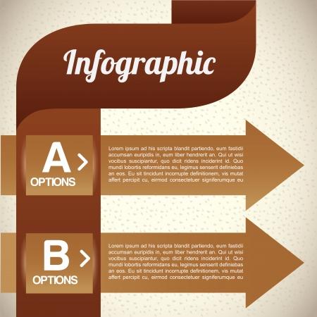 determinants: infographics design over  pattern illustration  Illustration