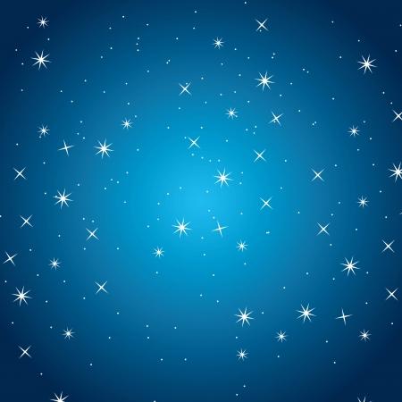 good night design over sky background vector illustration  Vector