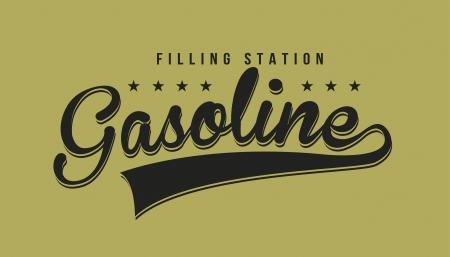 combust: oil industry over  green background vector illustration Illustration