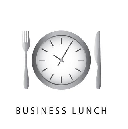 bisiness: menu design over white background vector illustration    Illustration