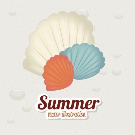 sand background: summer design over sand  background vector illustration