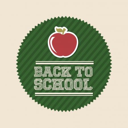 dates fruit: volver a la escuela m�s de fondo blanco ilustraci�n vectorial Vectores
