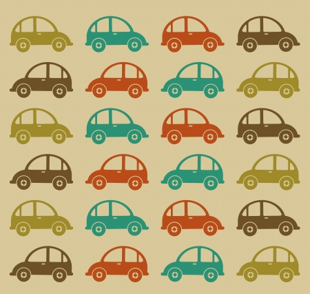 axles: cars design over beige  background vector illustration  Illustration