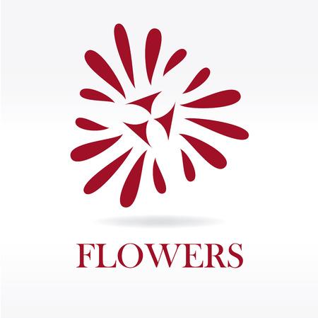 obituary: flowers design over  white background vector illustration