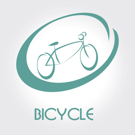bicycle design over gray  background vector illustration   Vector