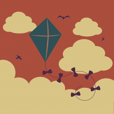 newborn: baby design over sky background vector illustration