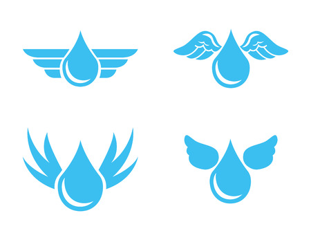 water design over white background vector illustration Vector