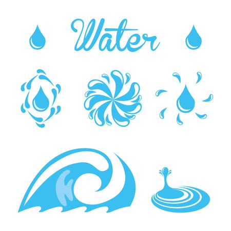 enviromental: water design over white background vector illustration Illustration