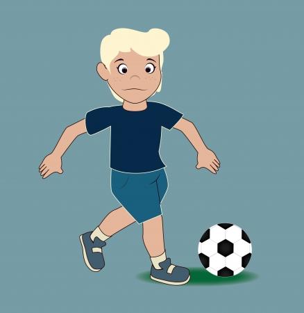 soccer design over blue  background  vector illustration Stock Vector - 25248623