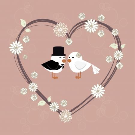 diseño de amor sobre fondo de color rosa ilustración vectorial Ilustración de vector