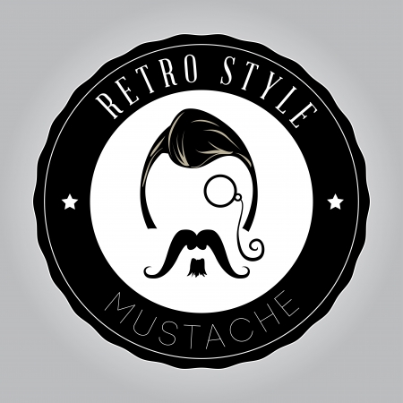 hipster design over gray  background vector  illustration   Vector