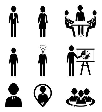 community service: business icon over  white background vector illustration Illustration
