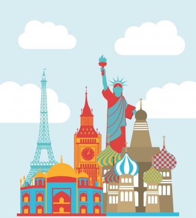 tower of london: travel design over sky background vector illustration
