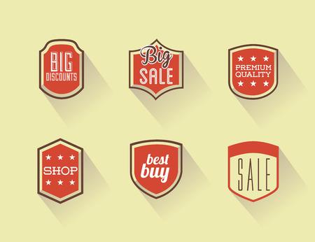 shopping design over  cream background vector illustration Vector