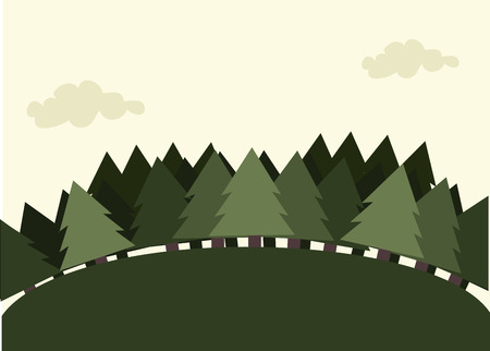camping design over sky  background vector illustration   Vector
