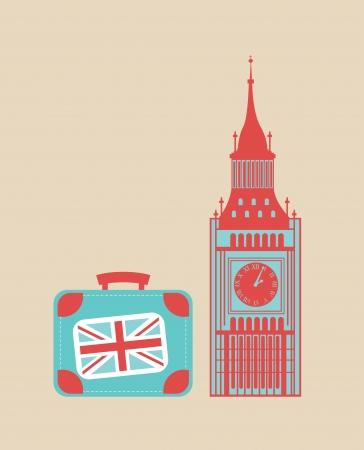 travel design over pink background vector illustration Vector