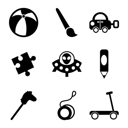 spacial: toys design over  white background vector illustration