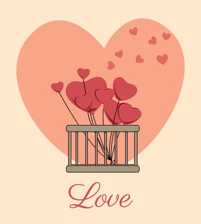 obituary: flowers design over pink   background vector illustration