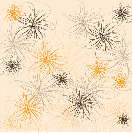 flowers design over   background vector illustration