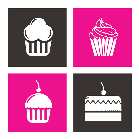 bakery design over white vector illustration   Vector