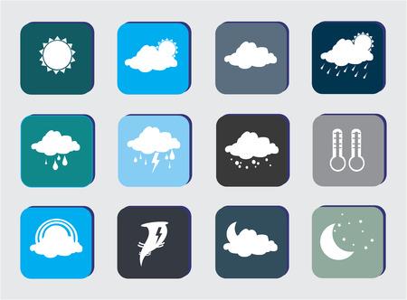 meteorologist: weather design over gray background vector illustration