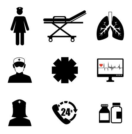medical dsign over white  background vector illustration   Vector