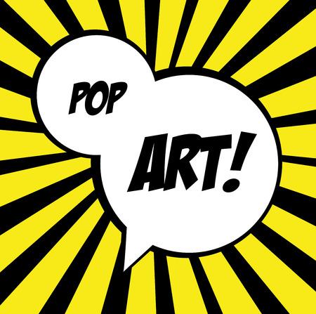 nuke: pop art   over  grunge  background vector illustration