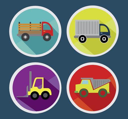 bottoms: transport bottoms design  over blue background vector illustration