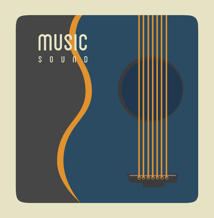 The music design vector illustration Vector