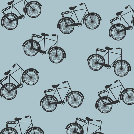 retro style  cycling design over blue background vector illustration Vector