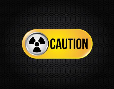 signaling: atomic signs over black background vector illustration