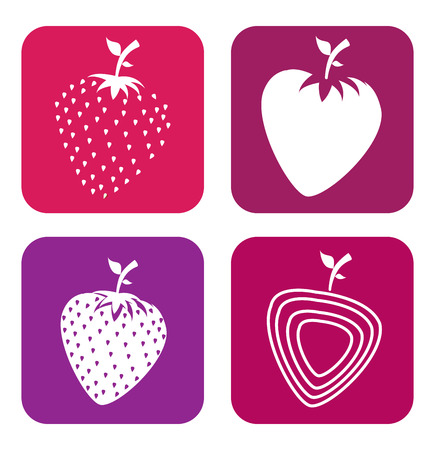 fruits blackberry design over white background vector illustration Vector