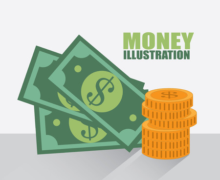 savings design over gray background vector illustration Vector