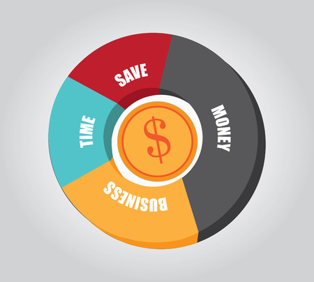 savings design  Vector