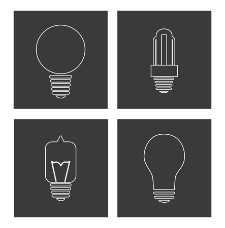 energy design over white background, vector illustration Vector